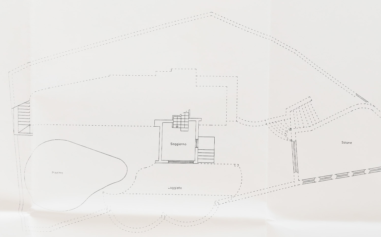 Planimetria Salone